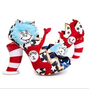 Thing 1 Thing 2 Cat in the Hat Irregular Choice